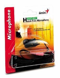 Микрофон Genius MIC-01C черный - фото 1