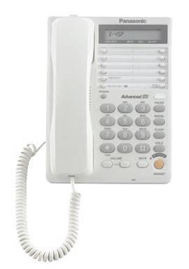 Телефон Panasonic KX-TS2365RUW белый - фото 2