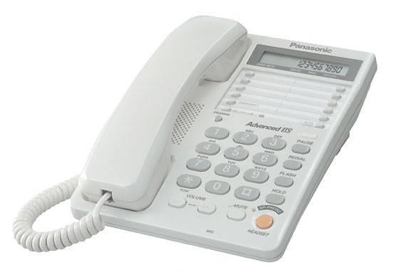 Телефон Panasonic KX-TS2365RUW белый - фото 1