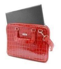 Дамская сумка для ноутбука на 13,3 дюймов, цвет снаружи - красный...