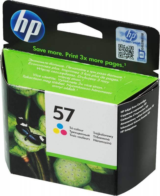 Картридж HP 57 многоцветный (C6657AE) - фото 1