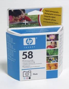 Картридж струйный HP C6658AE многоцветный