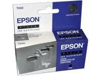 Картридж струйный Epson C13T040140 черный