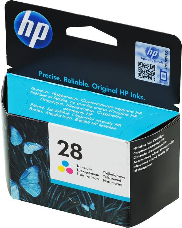 Картридж HP 28 многоцветный (C8728AE) - фото 1