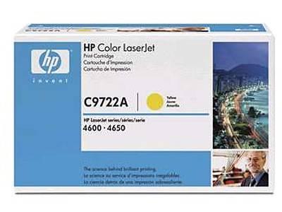 Картридж HP 641A желтый (C9722A) - фото 1