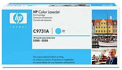 Картридж HP 645A голубой (C9731A) - фото 1