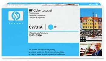 Картридж HP 645A голубой (C9731A)