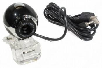 Камера Web Defender C-090 черный (63090)