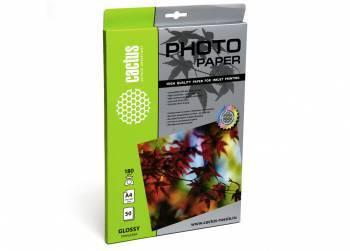 Фотобумага Cactus CS-GA418050 A4 180г/м2 50л. белый