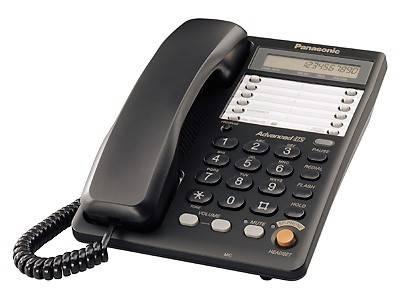 Телефон Panasonic KX-TS2365RUB черный - фото 1