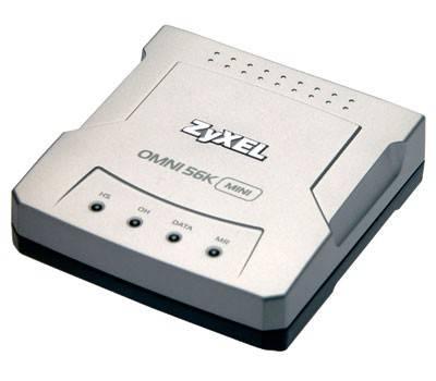 DialUp Zyxel OMNI 56K MINI EE RS-232 - фото 1