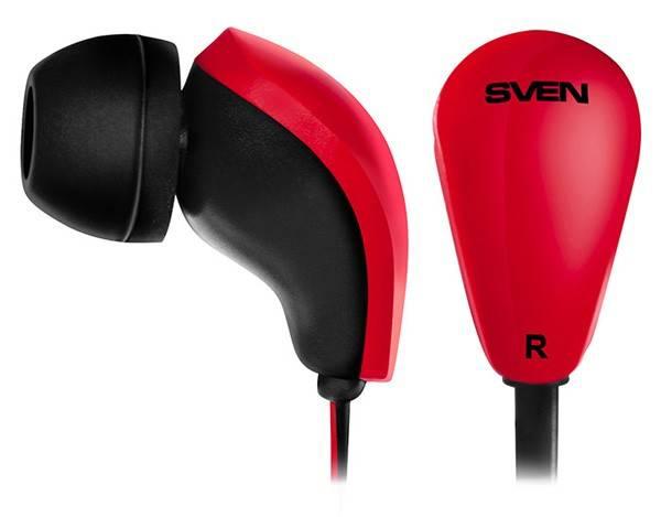 Наушники Sven SEB-200 черный/красный - фото 1