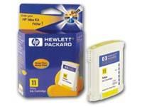 Картридж HP 11 желтый (C4838A) - фото 1
