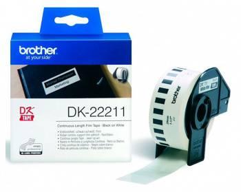 Картридж Brother DK22211 белый