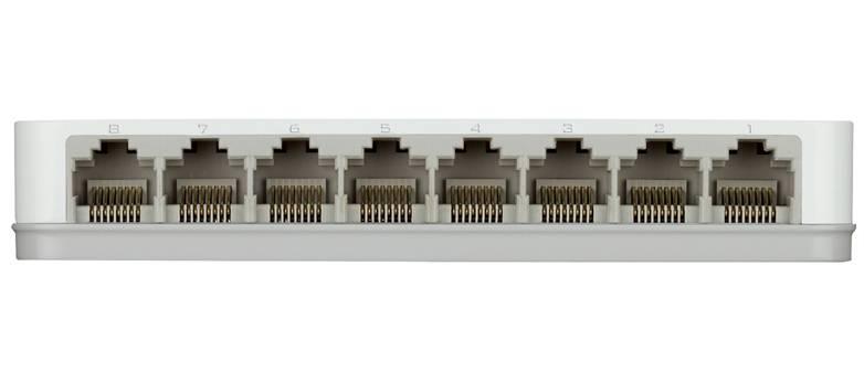 Коммутатор неуправляемый D-Link DGS-1008A/D1A - фото 2