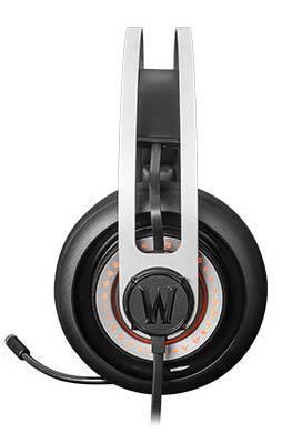 Наушники с микрофоном Steelseries Siberia Elite World of Warcraft черный/серебристый - фото 2