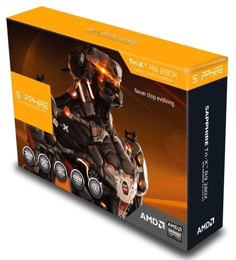 Видеокарта Sapphire TRI-X Radeon R9 280X 3072 МБ (11221-22-40G) - фото 6