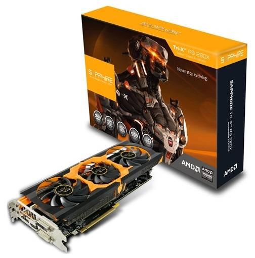 Видеокарта Sapphire TRI-X Radeon R9 280X 3072 МБ (11221-22-40G) - фото 7