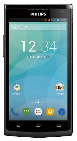 Смартфон Philips S388 черный - фото 1