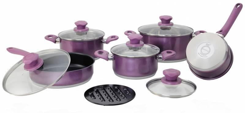 Набор посуды Supra Vasei SVS-1197KIT (11 предметов) - фото 1