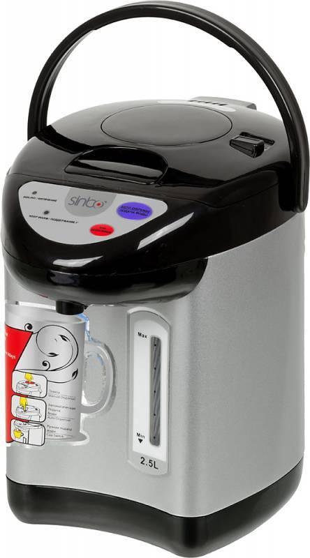 Термопот Sinbo SK-2394 серебристый/черный - фото 1