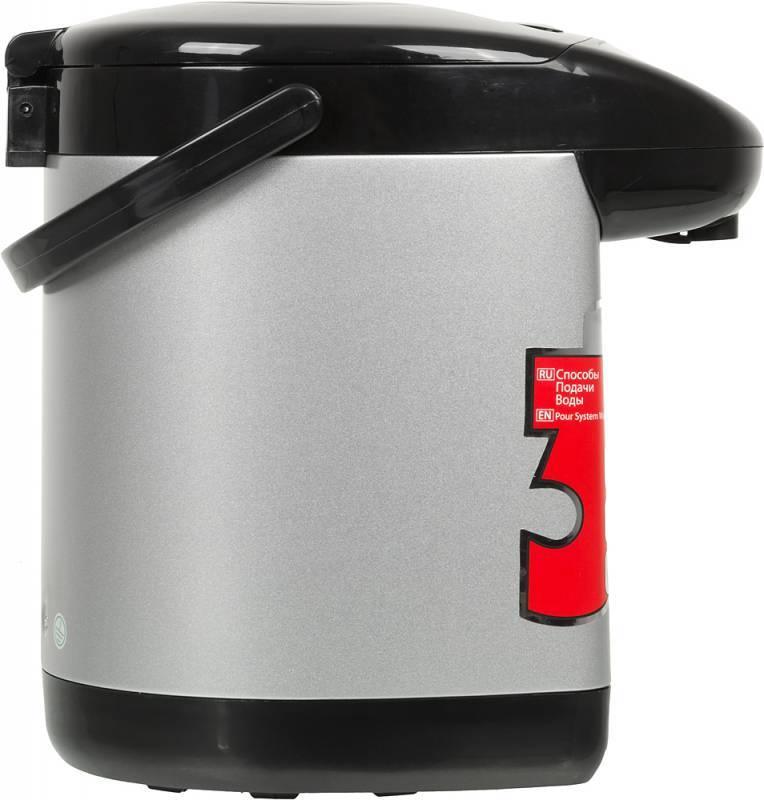 Термопот Sinbo SK-2394 серебристый/черный - фото 2