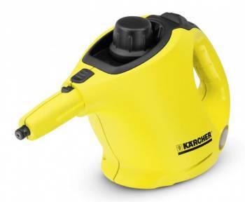 Пароочиститель напольный Karcher SC1 желтый / черный