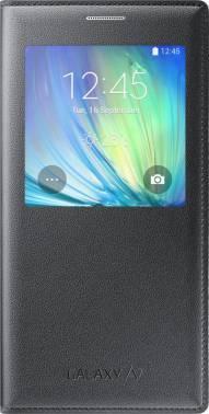 Чехол (флип-кейс) Samsung S View черный, для Samsung Galaxy A7 (EF-CA700BCEGRU)