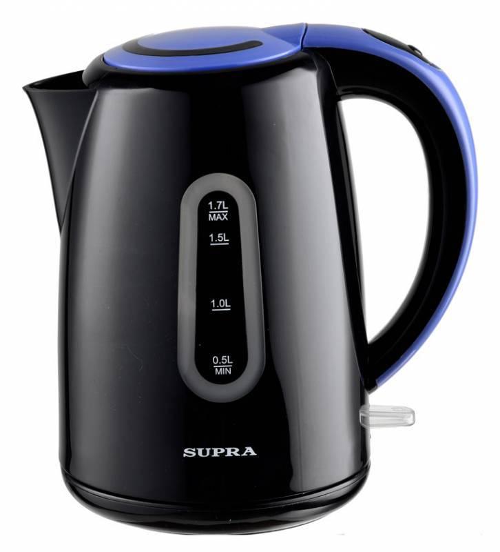 Чайник электрический Supra KES-1720 черный - фото 1