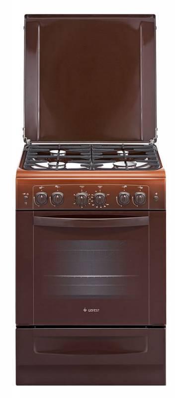 Плита газовая Gefest ПГ 6100-02 0001 коричневый - фото 1