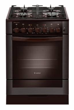 Плита комбинированная Gefest 6502-02 0045 коричневый (ПГЭ 6502-02 0045)