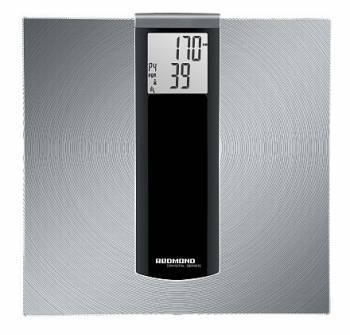 Весы напольные электронные Redmond RS-740S серебристый / черный