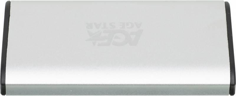 Внешний корпус для SSD AgeStar 3UBMS1 mSATA серебристый - фото 3