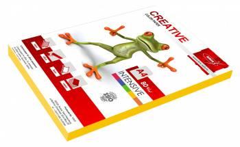 Бумага Creative БПPR-100Ж A4 80г/м2 100л. желтый пастель