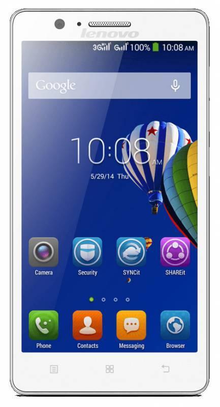 Смартфон Lenovo A536 8ГБ белый - фото 2