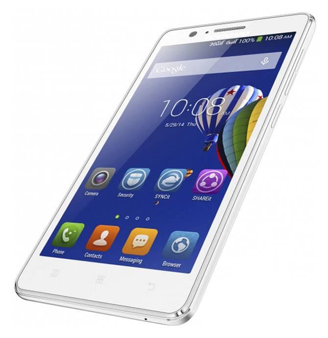 Смартфон Lenovo A536 8ГБ белый - фото 4