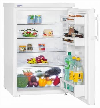 Холодильник Liebherr T 1710 белый, однокамерный, общий объем 154л, размораживание холодильной камеры: автоматическое, размораживание морозильной камеры: морозильная камера отсутствует