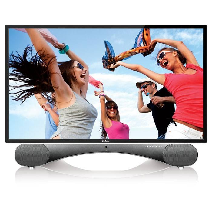 """Телевизор LED 24"""" BBK UltraSound 24LEM-5002/FT2C черный - фото 1"""