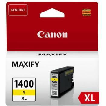 Картридж Canon PGI-1400XLY желтый (9204B001)