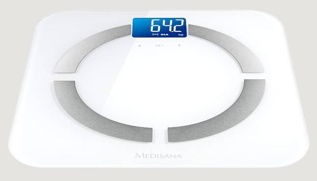 Весы напольные электронные Medisana BS 430 Connect белый (40422) - фото 1