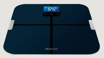 Весы напольные электронные Medisana BS 440 Connect черный (40423)
