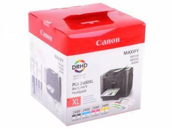 Набор картриджей Canon PGI-2400XL черный/голубой/пурпурный/желтый (9257B004)