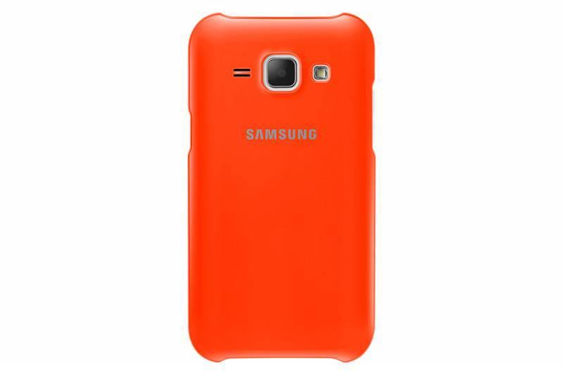 Чехол (клип-кейс) Samsung EF-PJ100BOEGRU оранжевый - фото 1