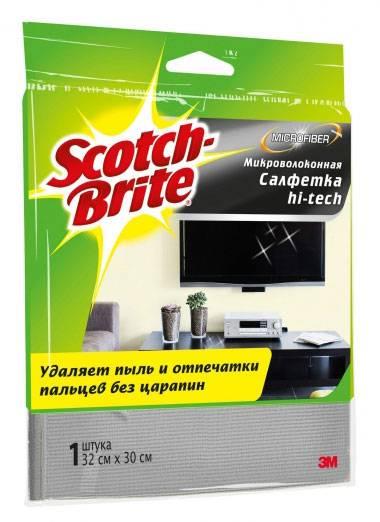 Салфетка универсальная 3M Scotch-Brite MW-HT - фото 1