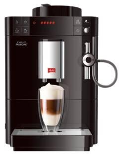 Кофемашина Melitta Caffeo Passione черный (6708764)