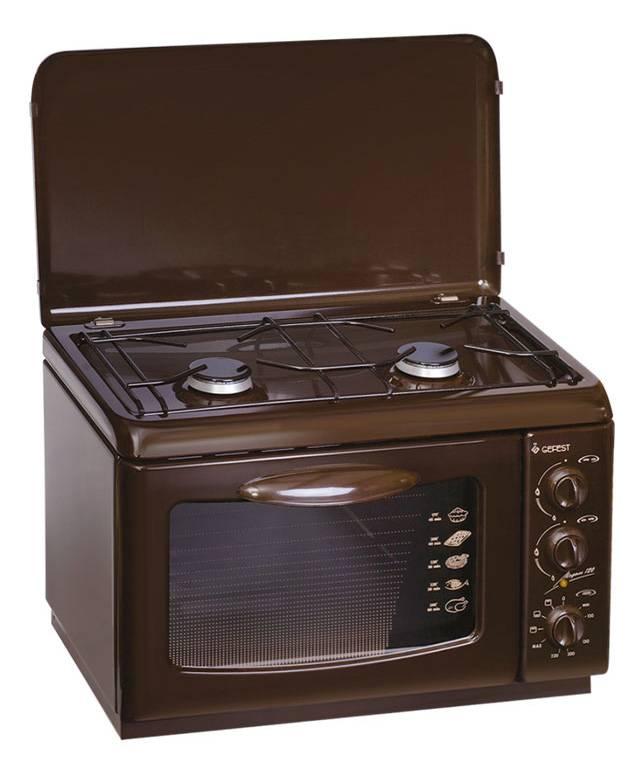 Плита комбинированная Gefest ПГЭ 120 К19 коричневый - фото 1