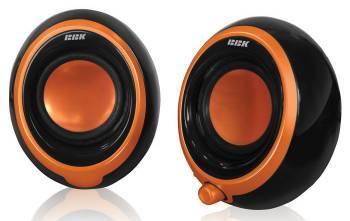 Колонки 2.0 BBK CA-201S черный / оранжевый