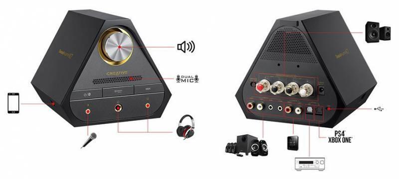 Портативный усилитель Creative Sound Blaster X7 - фото 3