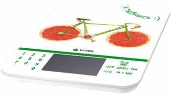 Кухонные весы Vitek VT-2413 белый