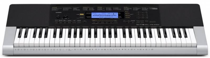 Синтезатор Casio CTK-4400 серый - фото 1